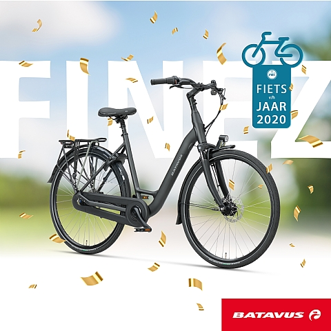 De Batavus Finez is de winnaar is in de categorie Fiets van het Jaar 2020!
